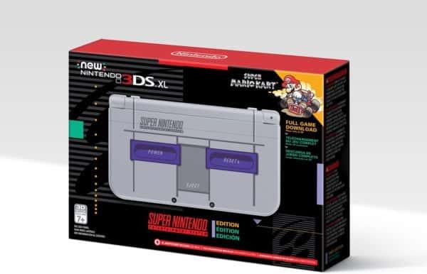 Nintendo New 3DS XL - Super NES Edition (Pre-Order)