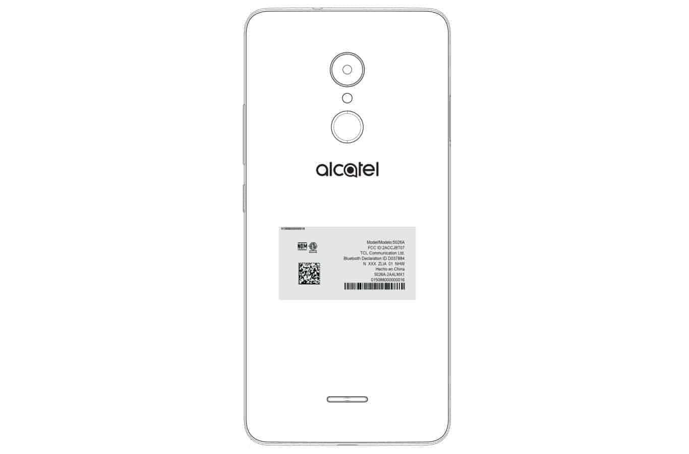 Alcatel 5026A Visits The FCC With A 2,900mAh Battery In Tow