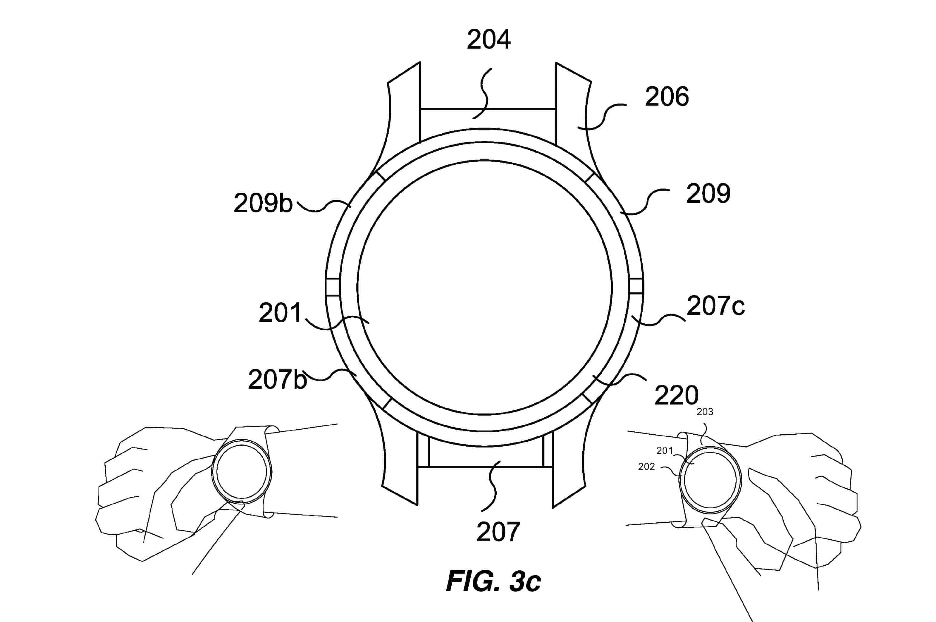 Huawei Patent Reveals Touch-Sensitive Bezel For Watches