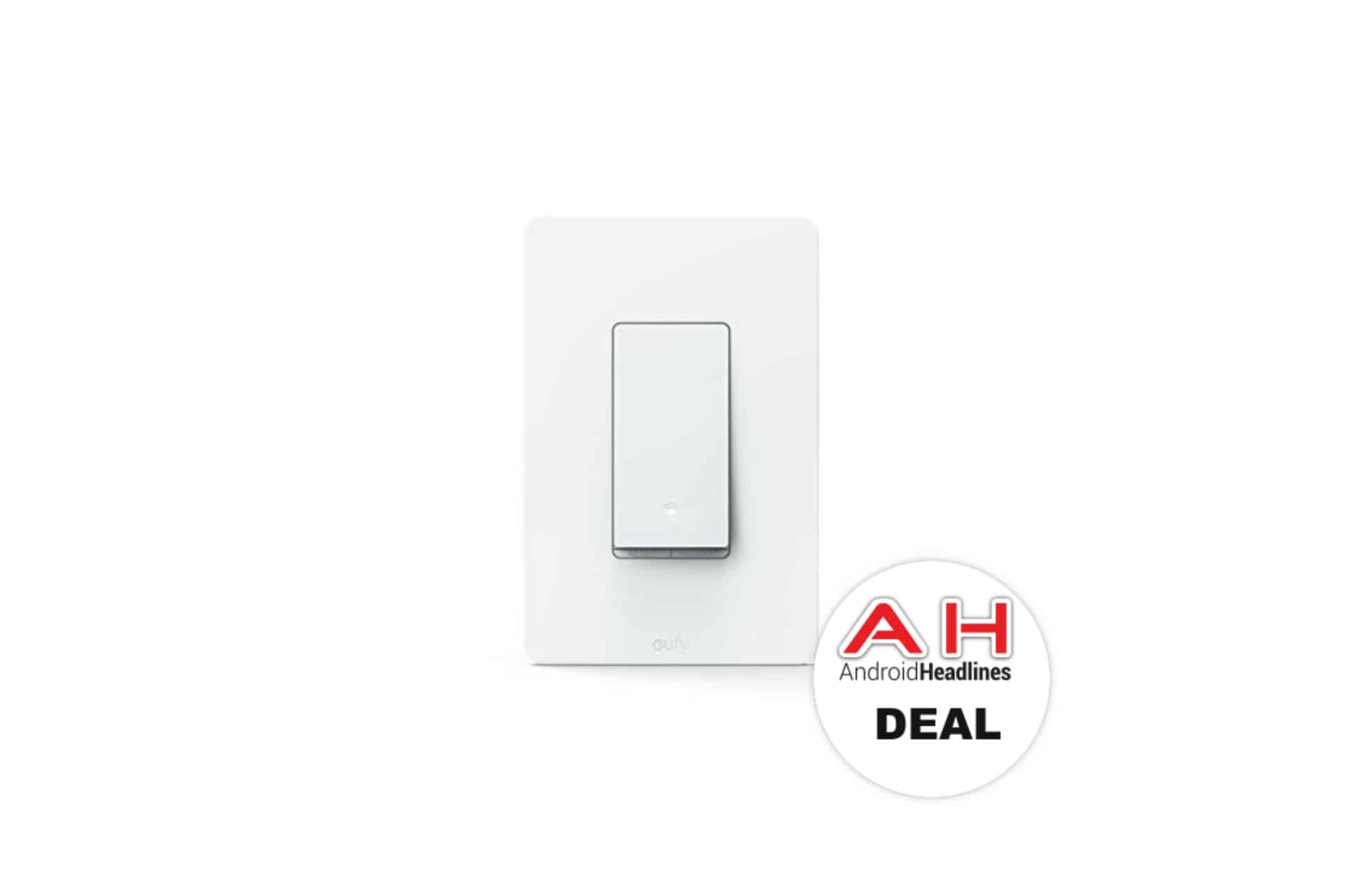 Deal: eufy Smart Switch (Works With Amazon Alexa) for $25