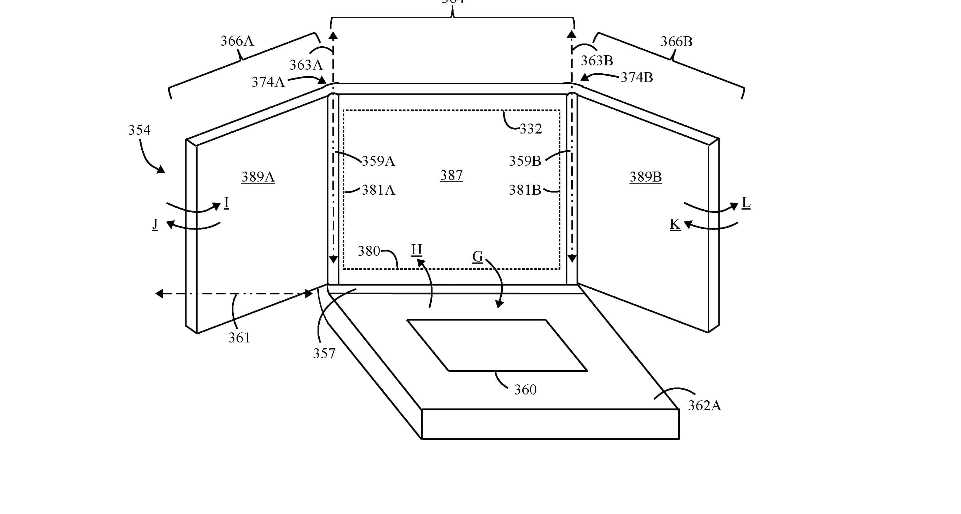 Lenovo Patents Hybrid Laptop With Tri-Fold Display