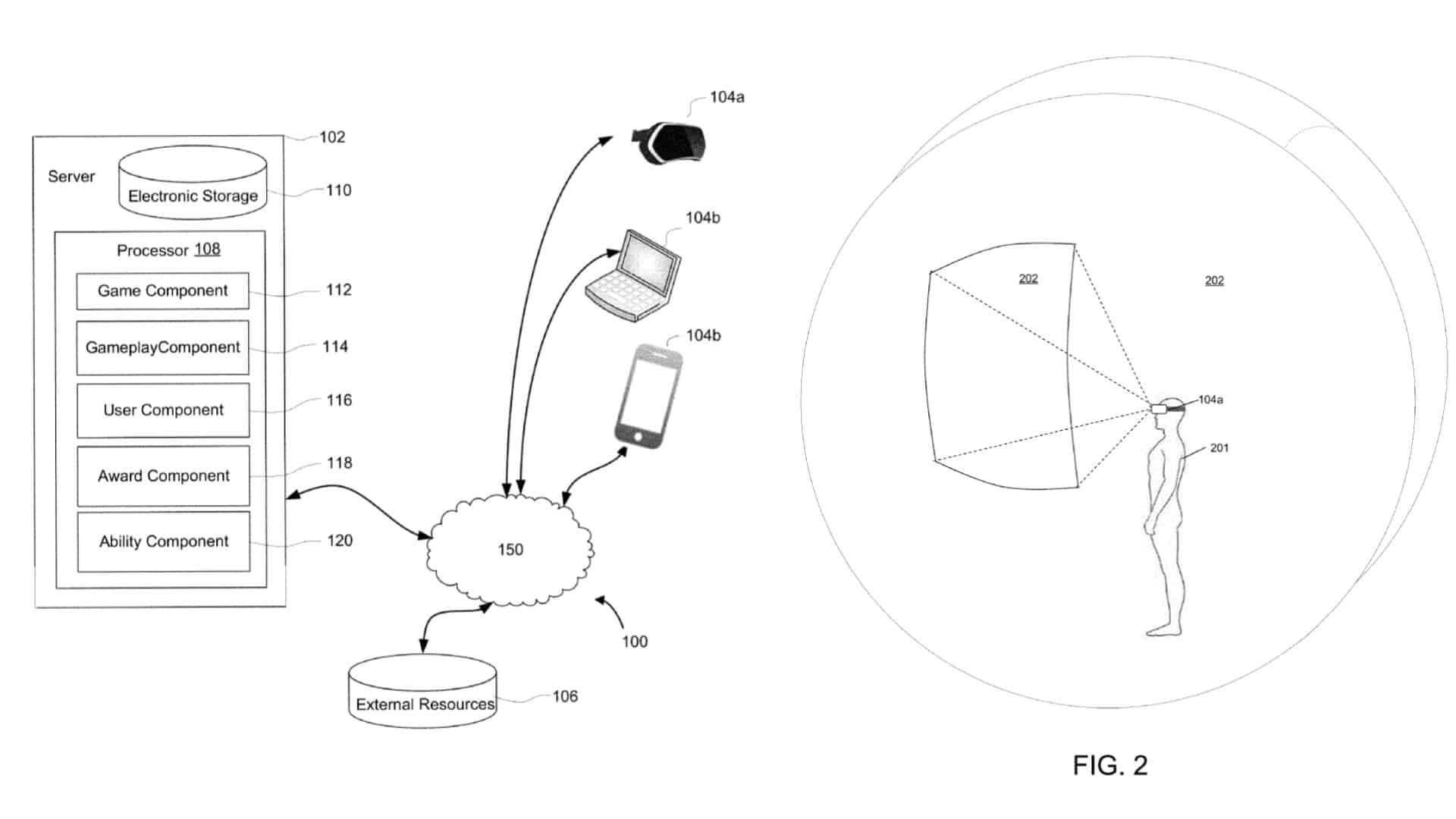 EA Patent Shows Multiplatform VR Save Data Sharing Method