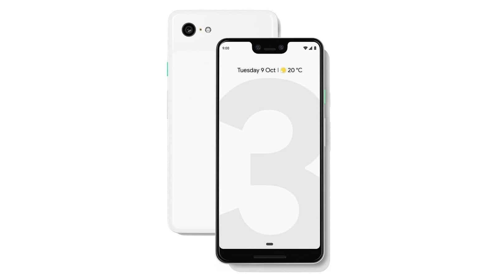 New Google Pixel 3 XL Render Surfaces With A Stock