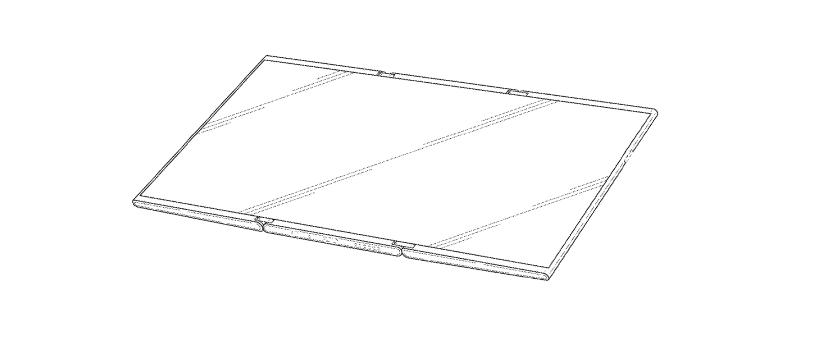 Samsung Patents Foldable Tablet With Double Fold Design