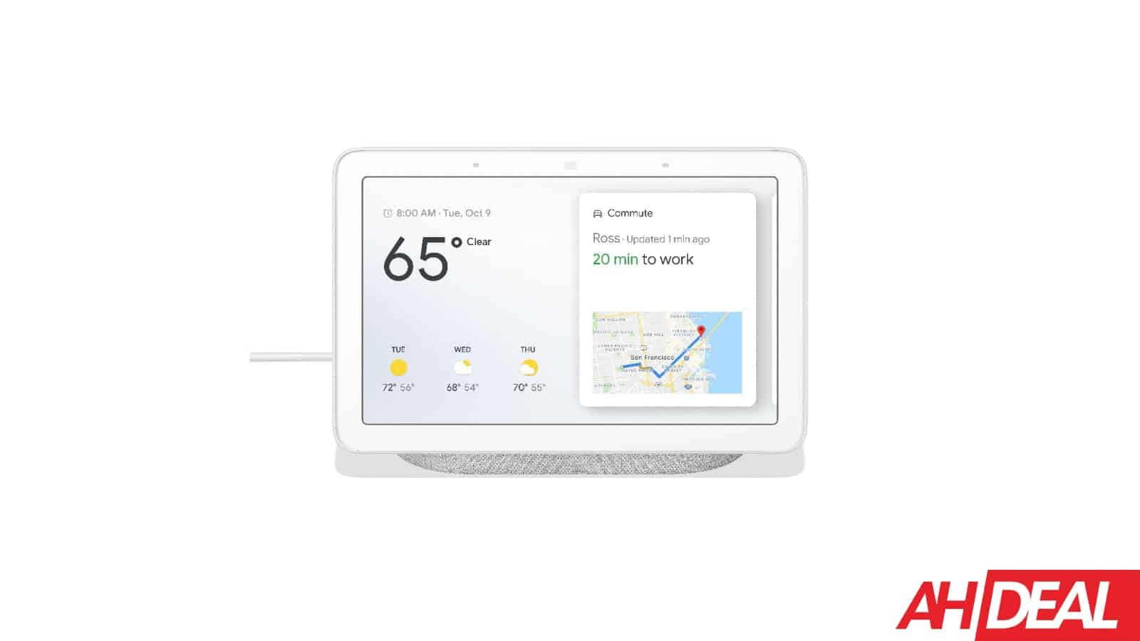 Score The Google Home Hub For $125 From Woot
