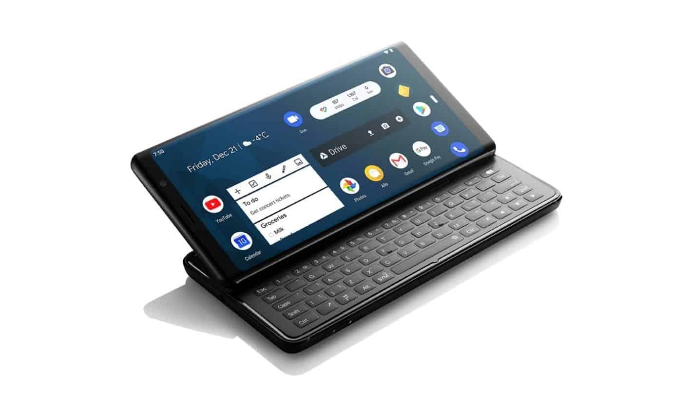 Crownfunding : Un concept de smartphone à clavier récolte 460000$ en 24h !
