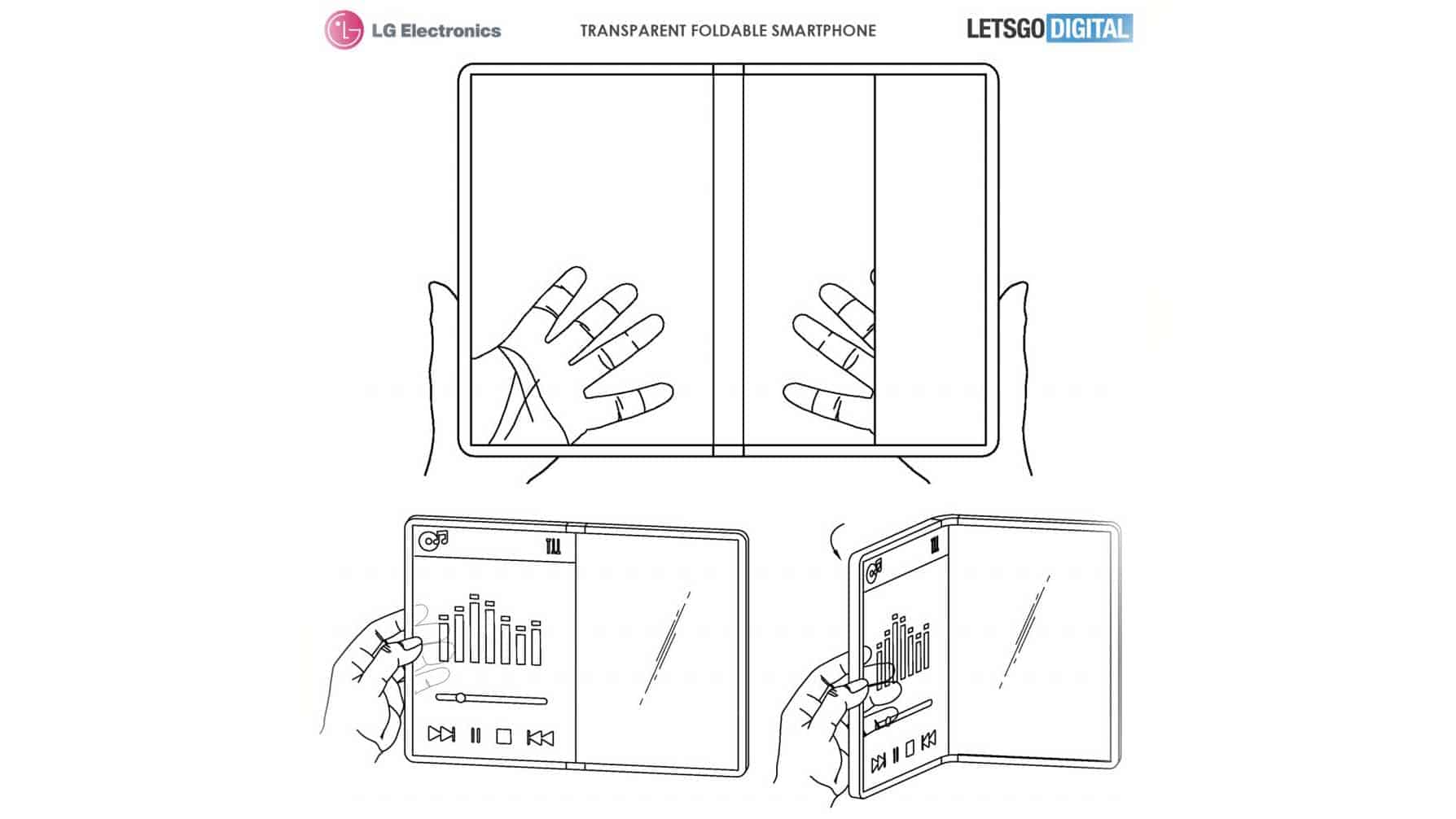 LG Considers Folding Tony Stark's Transparent Smartphone