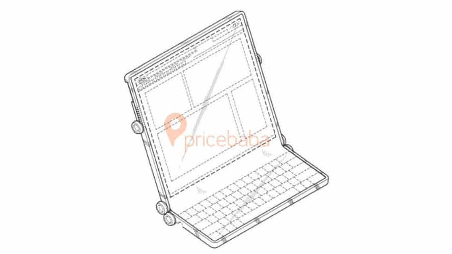 Samsung Patents Odd-Looking Foldable Smartphone / Laptop