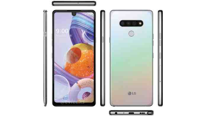 Here S Your First Look At The Lg Stylo 6 In This New Image Leak