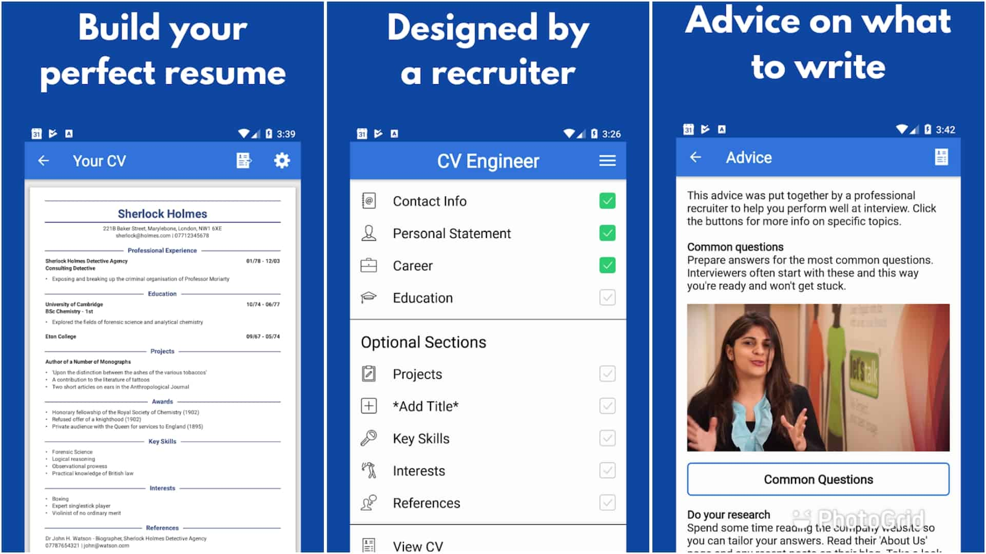 Top 9 Best Resume Builder Android Apps – 2020