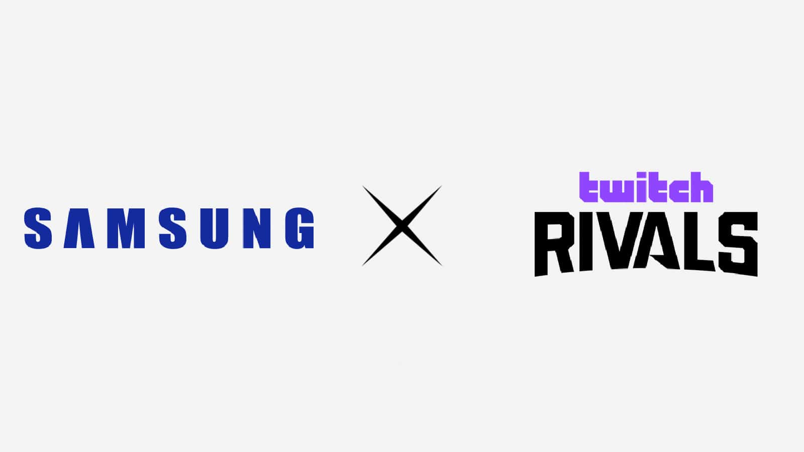 Samsung & Twitch Rivals Partnership Aims To