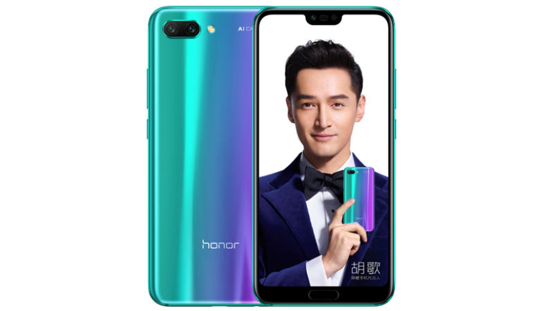 8) Honor 10 Launched officially with Dual Rear cameras and notched screen