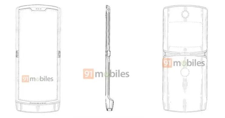 Motorola RAZR: Patent zeigt das mögliche Design des Falt