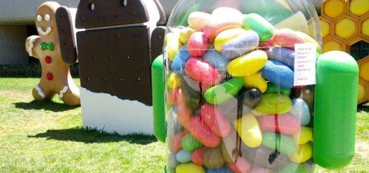 jelly bean droids