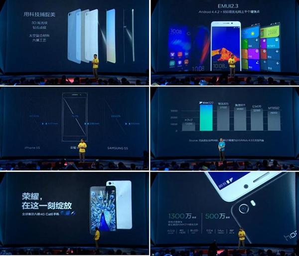 Huawei Honor 6 specs