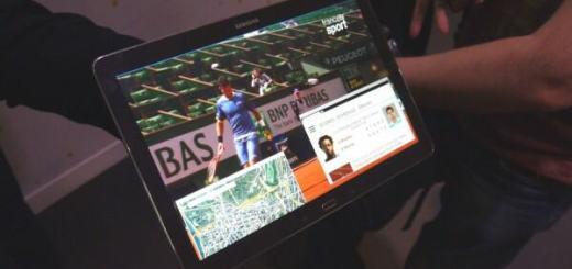 Samsung 4K tablet