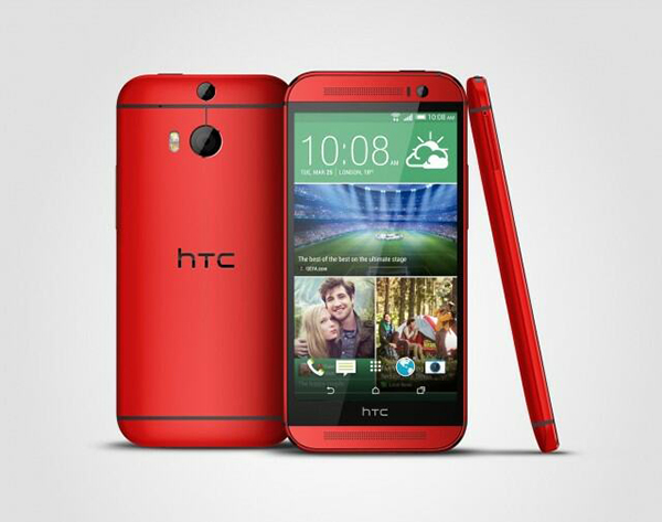 HTC One M8 rood