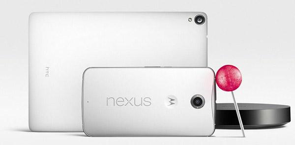 Nexus 9 - Nexus 6 - Nexus Player