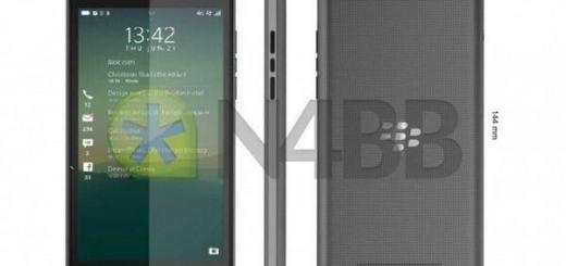 BlackBerry Rio Z20 smartphone 2