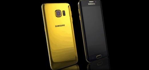 Gouden Galaxy s6