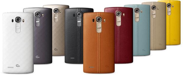 LG G4 backcover