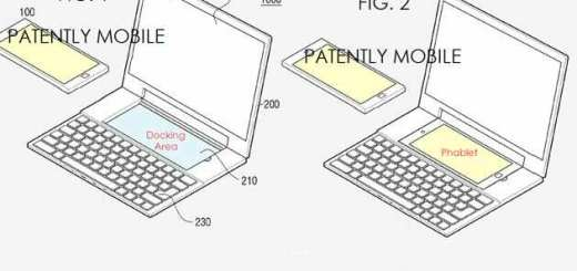 samsung smartphone laptop hybride patent