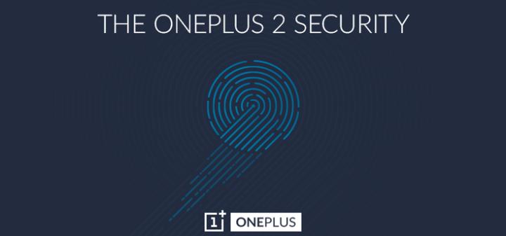 OnePlus Two vingerafdrukscanner