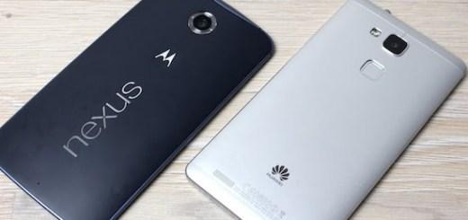 Huawei Nexus smartphone