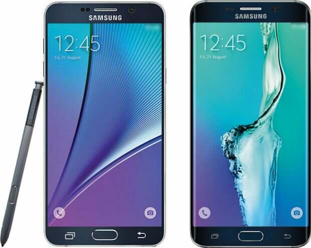 Samsung Galaxy Note 5 - Samsung Galaxy S6 Edge Plus