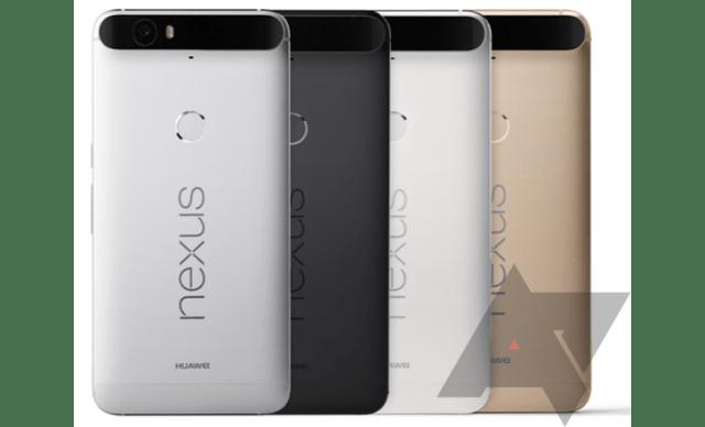 Nexus 6P Huawei back