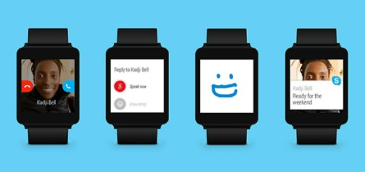 Skype Android Wear