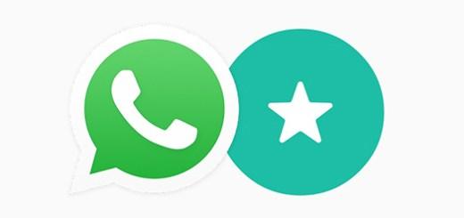 WhatsApp Ster favoriete berichten