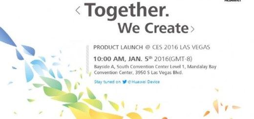 Huawei CES uitnodiging Huawei P9