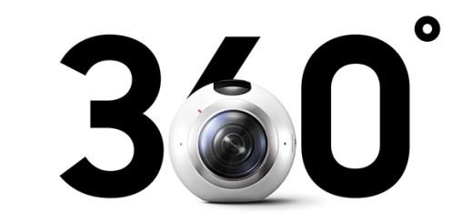Samsung Gear VR 360 graden camera