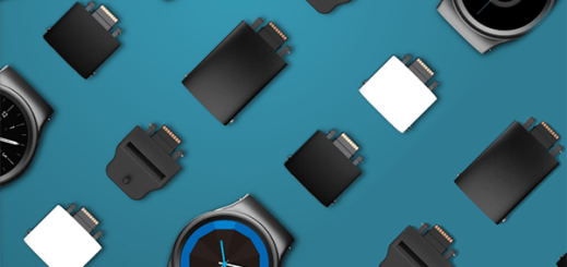 modulaire blocks smartwatch