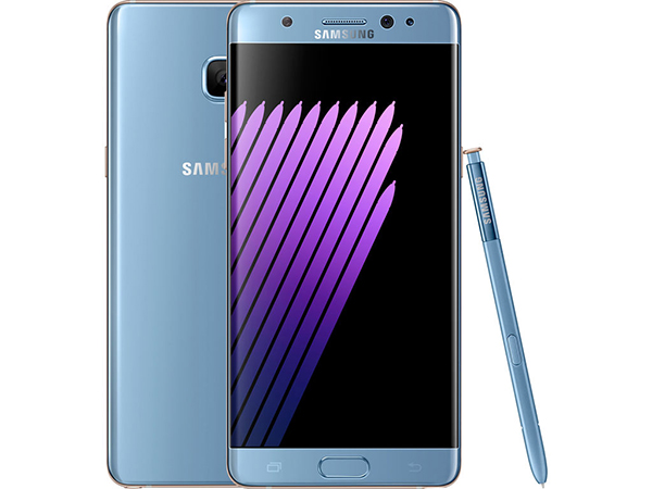 Samsung Galaxy Note 7 blauw