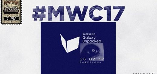Samsung Unpacked 2017 MWC17