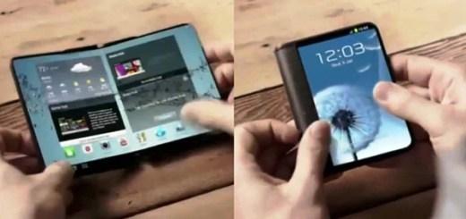 Samsung X opvouwbare smartphone
