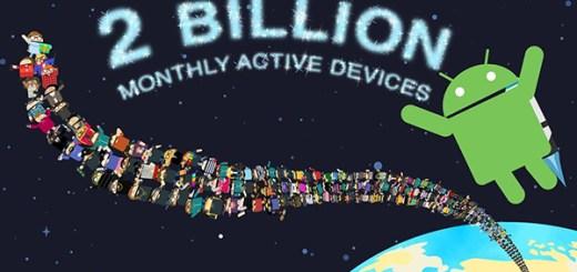 Android 2 miljard gebruikers