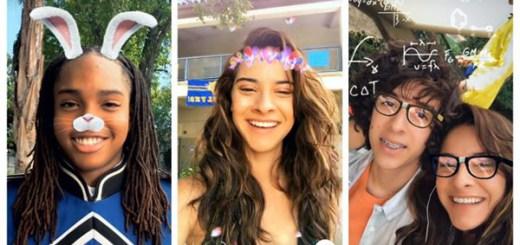Instagram gezichtsfilters