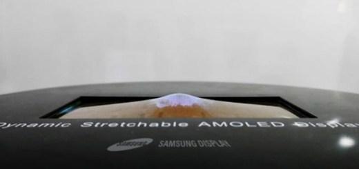 prototype uitrekbaar AMOLED scherm Samsung