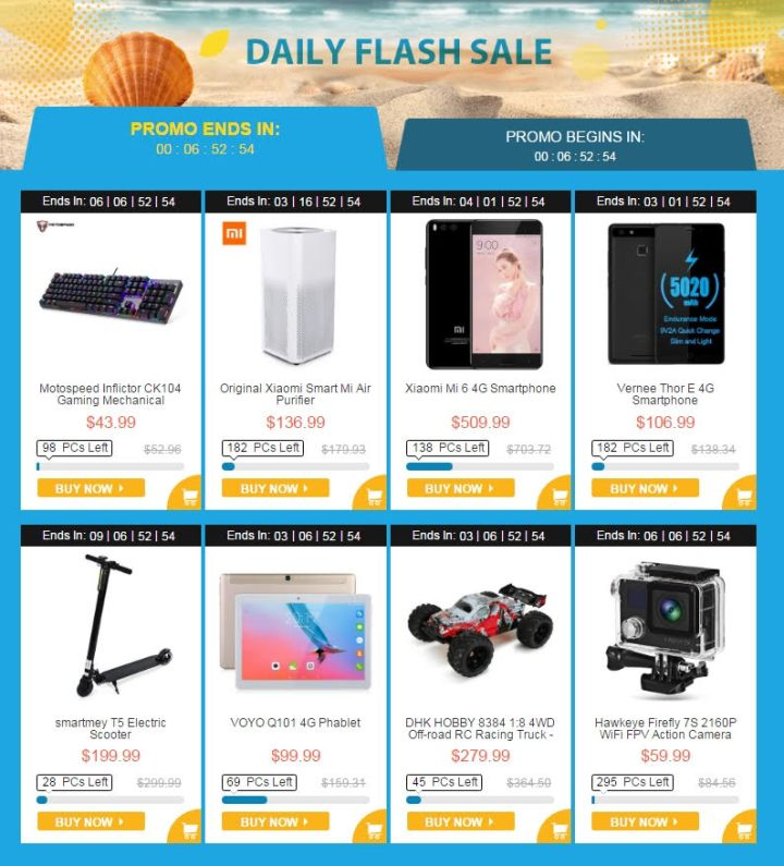 Summer Sale Gearbest