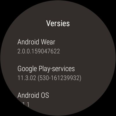 asus zenwatch 3 android wear 2.0