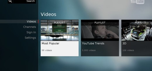 youtube android tv