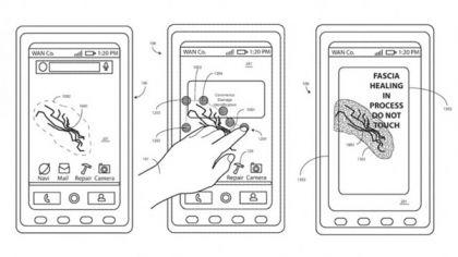 Motorola patent shape memory polymer