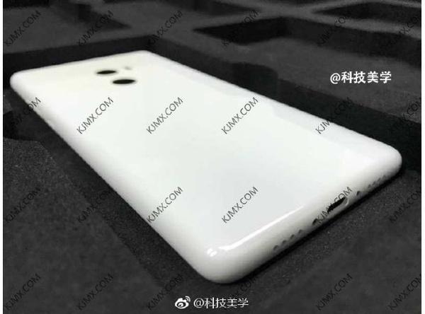 Xiaomi Mi Mix 2 achterkant
