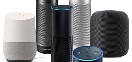 slimme speakers Amazon, Google, Apple