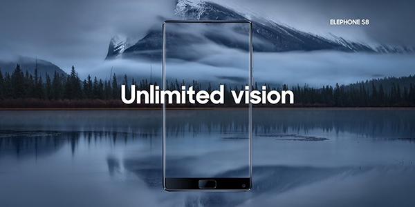 Elephone S8 render