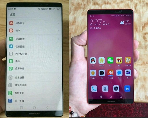 Huawei Mate 10 Pro foto