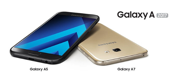 Samsung Galaxy A-serie 2017